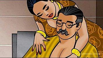 Престарелый работяга смотрит на межрасовый секс на крыльце